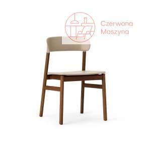 Krzesło Normann Copenhagen Herit smoked oak sand