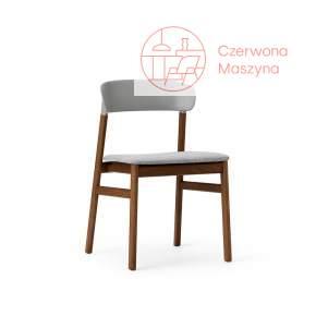 Krzesło tapicerowane Normann Copenhagen Herit smoked oak grey