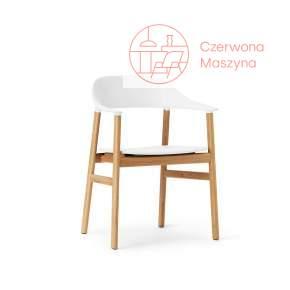 Krzesło z podłokietnikiem Normann Copenhagen Herit oak white