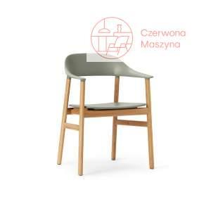 Krzesło z podłokietnikiem Normann Copenhagen Herit smoked oak white