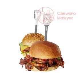 2 szpikulce do hamburgerów Gefu Torro, byk i tasak