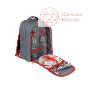 Plecak piknikowy z wyposażeniem dla 4 osób Cilio Garda