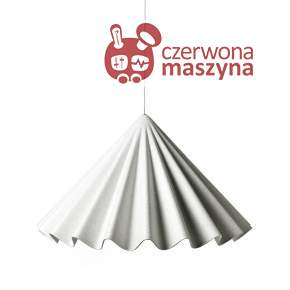Lampa wisząca Menu Dancing, biała