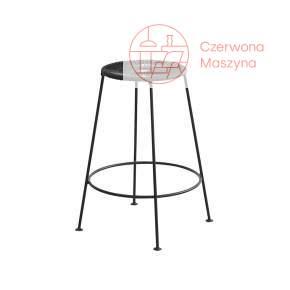 Krzesło barowe OK Design Acapulco 66 cm, czarne