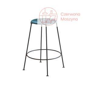 Krzesło barowe OK Design Acapulco 66 cm, niebieskie