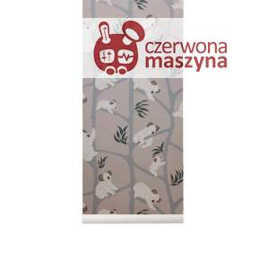 Tapeta ferm LIVING Koala Wallpaper, grey