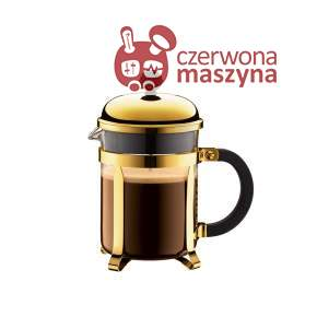 Zaparzacz do kawy french press Bodum Chambord 0,5 L złoty
