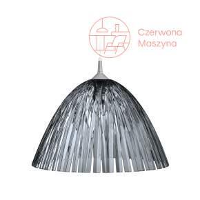 Lampa wisząca Koziol Reed 27 cm, szara przezroczysta