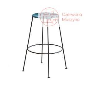 Krzesło barowe OK Design Acapulco 75 cm, niebieskie