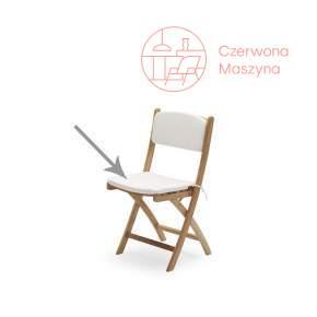 Poduszki do krzesła składanego Skagerak Selandia białe