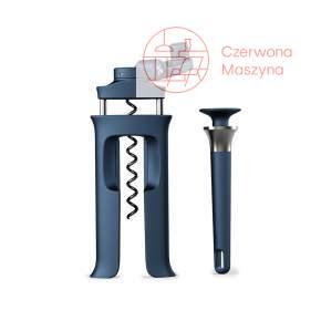 Zestaw: korkociąg i otwieracz do butelek Joseph Joseph Barwise, morski