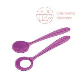 2 Łyżki do sałaty Guzzini Aqua fioletowe