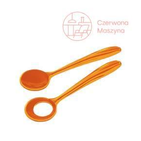 2 Łyżki do sałaty Guzzini Aqua pomarańczowe