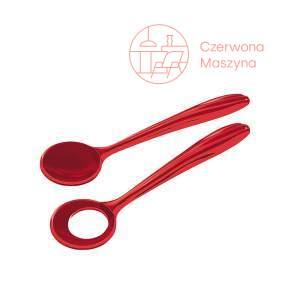 2 Łyżki do sałaty Guzzini Aqua czerwone