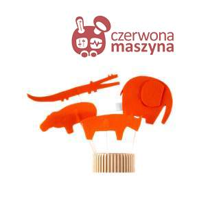 4 Kukiełki Zuzu Toys Zwierzęta sawanny