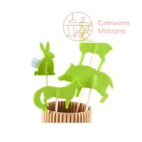 4 Kukiełki Zuzu Toys Zwierzęta leśne