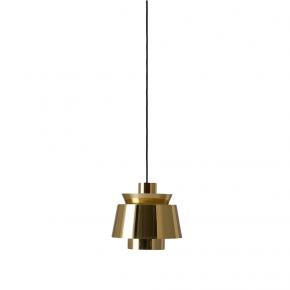 Lampa wisząca &tradition Utzon JU1  Ø 22 cm, mosiężna