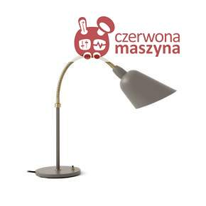 Lampa stołowa &tradition Bellevue AJ8, szaro-beżowa