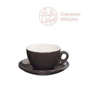 Filiżanka do cappuccino Cilio Roma 100 ml, ciemnoszara