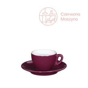 Filiżanka do espresso Cilio Roma 50 ml, oberżyna