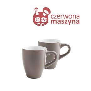 2 Kubki Kahla CAFÉ SOMMELIER 320 ml, jasnobrązowe