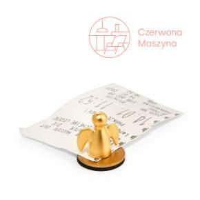 Klips na bilet parkingowy Philippi Angelo, złoty