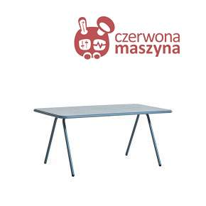 Stół Woud Ray 160 cm, niebieski