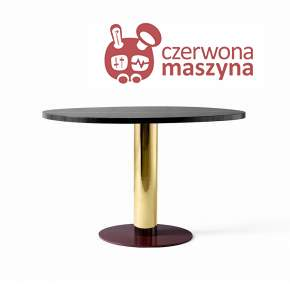 Stół &tradition Mezcla JH22 73 cm Brass / Nero Marquine