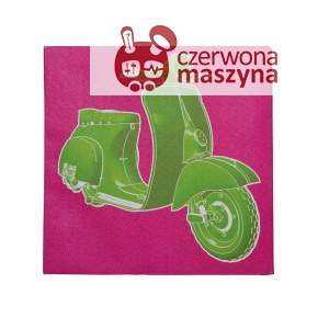 Obraz Kare Design Motoretta Pop 20 x 20 cm, Green