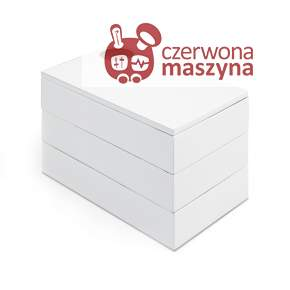 Pudełko na biżuterię Umbra Spindle białe