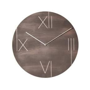 Zegar ścienny NeXtime Galileo Ø 43 cm, brązowy