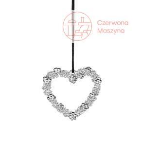 Zawieszka serce Rosendahl Karen Blixen h 7 cm, srebrna