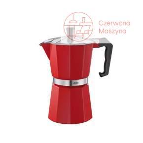 Kawiarka do espresso Cilio 300 ml czerwona