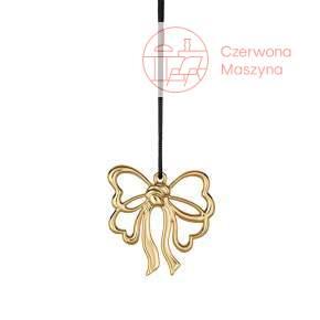 Zawieszka kokardka Rosendahl Karen Blixen h 6,5 cm, złota