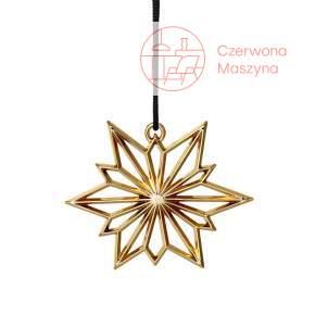 Zawieszka świąteczna Gwiazda Północy Rosendahl Karen Blixen złota