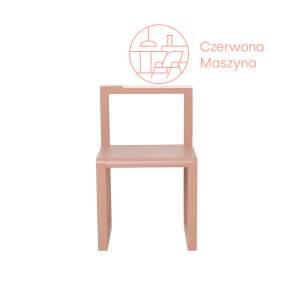 Krzesło ferm LIVING Little Architect, różowe