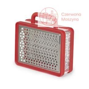 Tarka do sera z pojemnikiem Umbra Briefcase czerwona