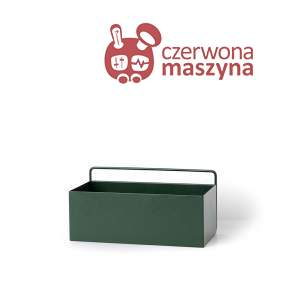 Kwietnik wiszący ferm LIVING Dark Green Rectangle