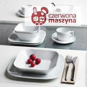 Zestaw porcelany 12 el. Centuries Feston white