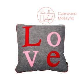 Poduszka Lilyshop Love czerwono - różowa