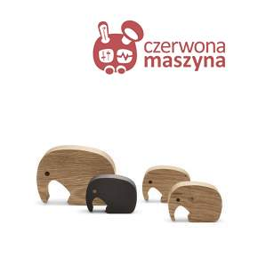 4 figurki Georg Jensen Elephant