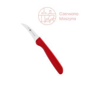 Nóż do obierania warzyw Zwilling Twin Grip 5 cm czerwony