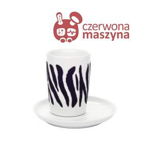 Filiżanka Kahla Five Senses touch! black Zebra 350 ml