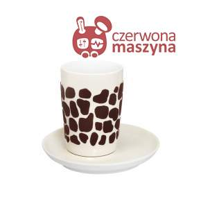 Filiżanka Kahla Five Senses touch! brown Giraffe 350 ml