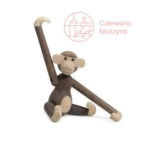 Figurka Kay Bojesen Małpka 19 cm, drewno dębowe