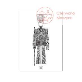Plakat Kay Bojesen Strażnik, 50x70 cm