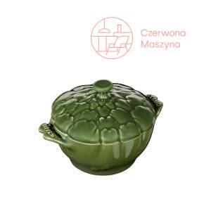 Naczynie żaroodporne Staub karczoch 450 ml, zielone