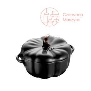 Naczynie żaroodporne Staub dynia 700 ml, czarne