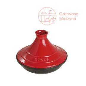 Naczynie do Tajine Staub 28 cm, Czerwono-czarny