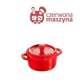 Garnek Staub Mini Cocotte 200 ml, czerwony